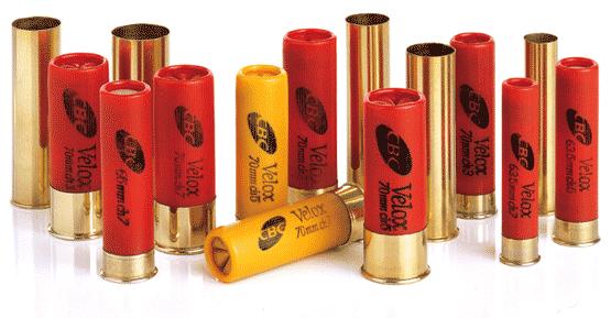 Бразилия производит высокачественные охотничьи патроны из латуни / пластика калибра 12 , 16, 20, 24, 28, 32, 36.